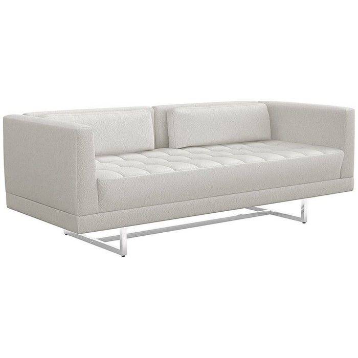 Interlude Home Luca Loveseat - Shearling