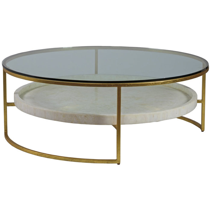 Artistica Home Cumulus Large Round Cocktail Table