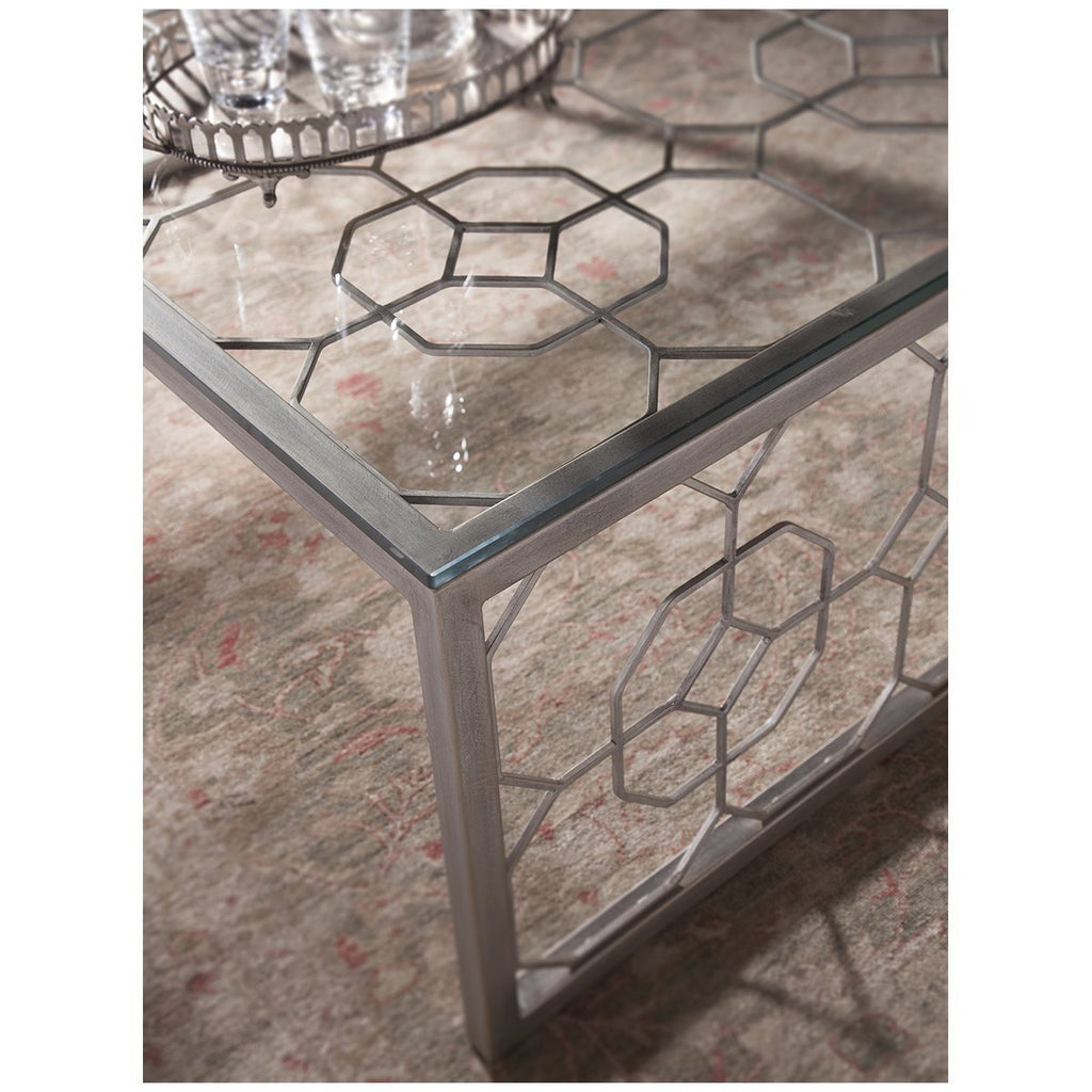 Artistica Home Honeycomb Rectangular Cocktail Table 01-2056-945