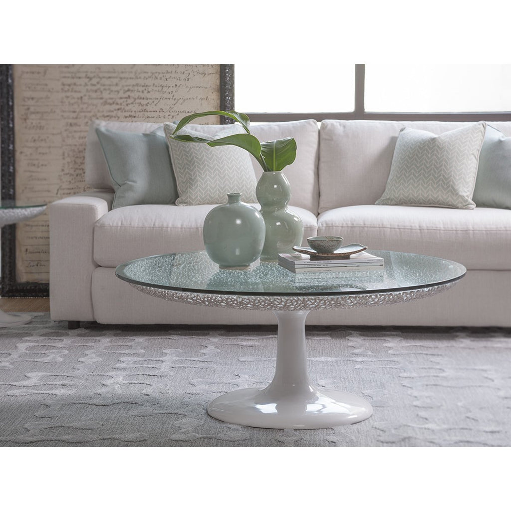 Artistica Home Seascape Round Cocktail Table