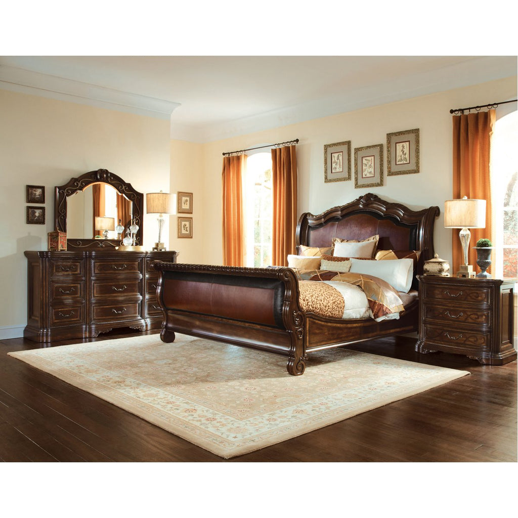 A.R.T. Furniture Valencia Upholstered Sleigh Bed