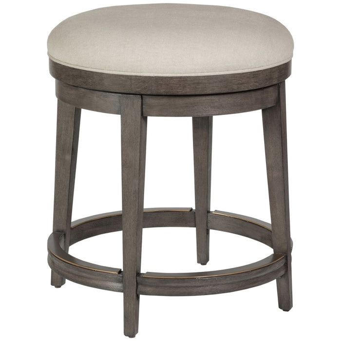 Artistica Home Cecile Backless Swivel Counter Stool 2221-897