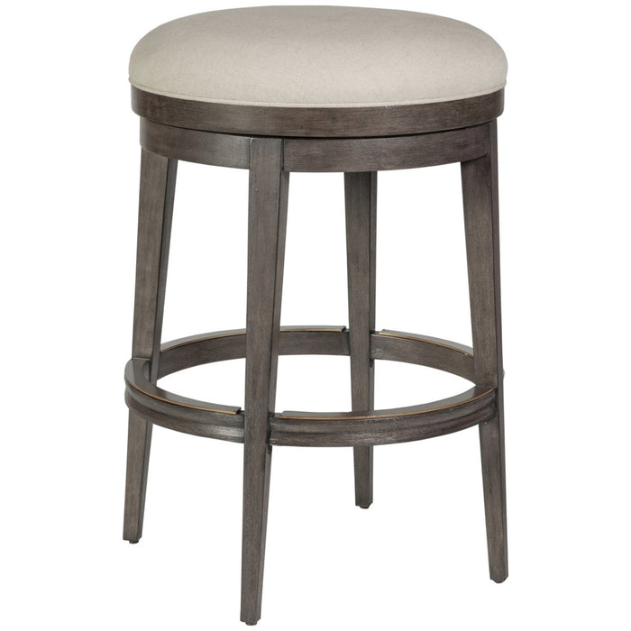 Artistica Home Cecile Backless Swivel Barstool 2221-898