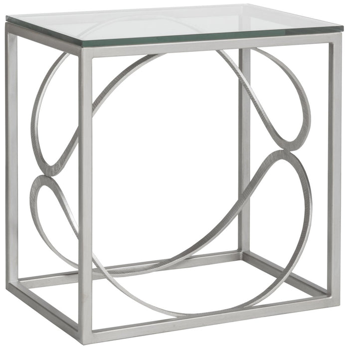 Artistica Home Ellipse Rectangular End Table 2234-955