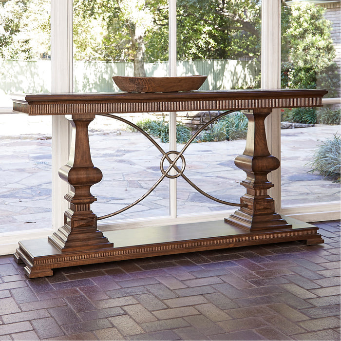 Ambella Home Woodford Console Table - Nutmeg