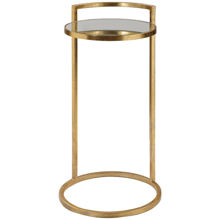 Uttermost Cailin Gold Accent Table