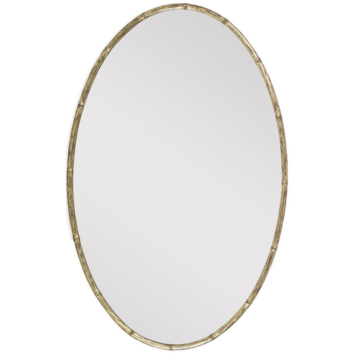 Ambella Home Bamboo Oval Mirror