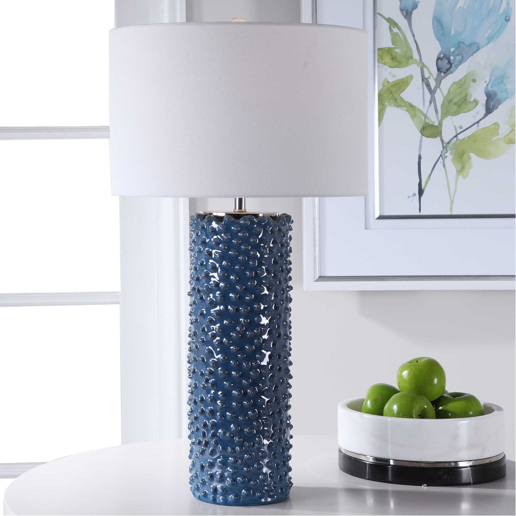 Uttermost Ciji Blue Table Lamp