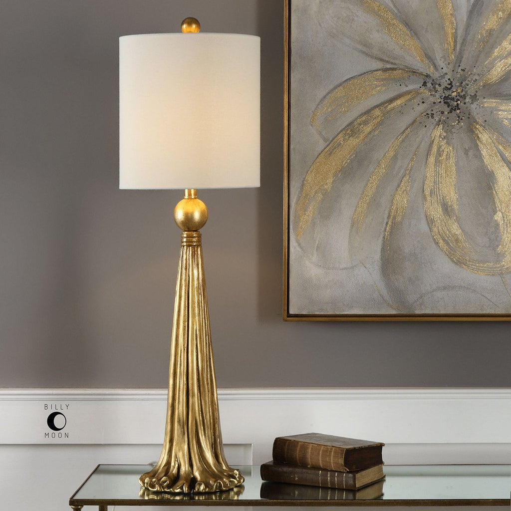 Uttermost Paravani Metallic Gold Lamp