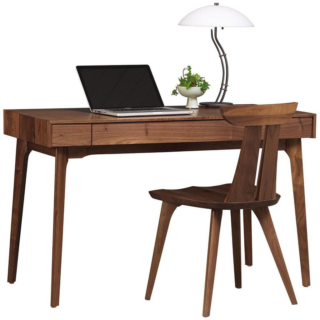 Copeland Furniture Catalina Home Office Desk in Natural Walnut