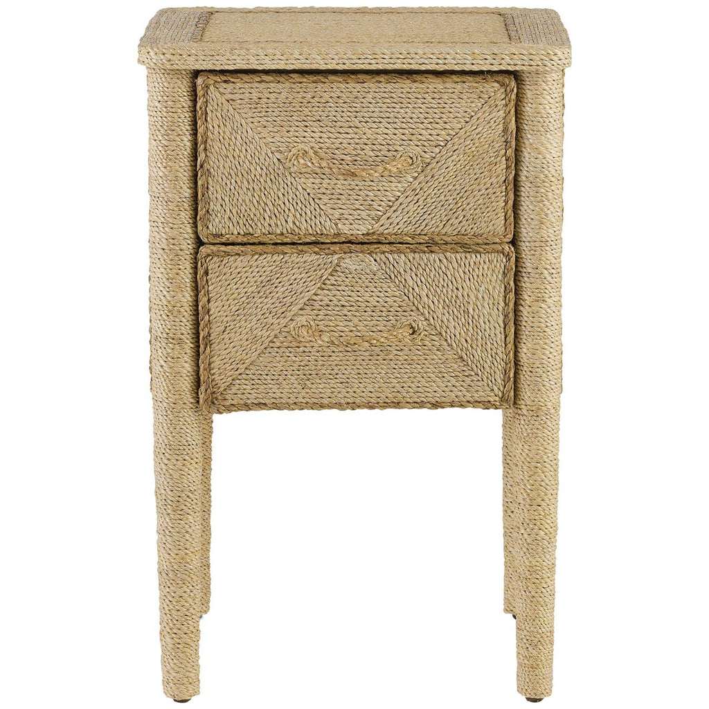 Currey and Company Kaipo Nightstand