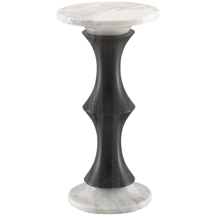 Currey and Company Jesper Marble Drinks Table