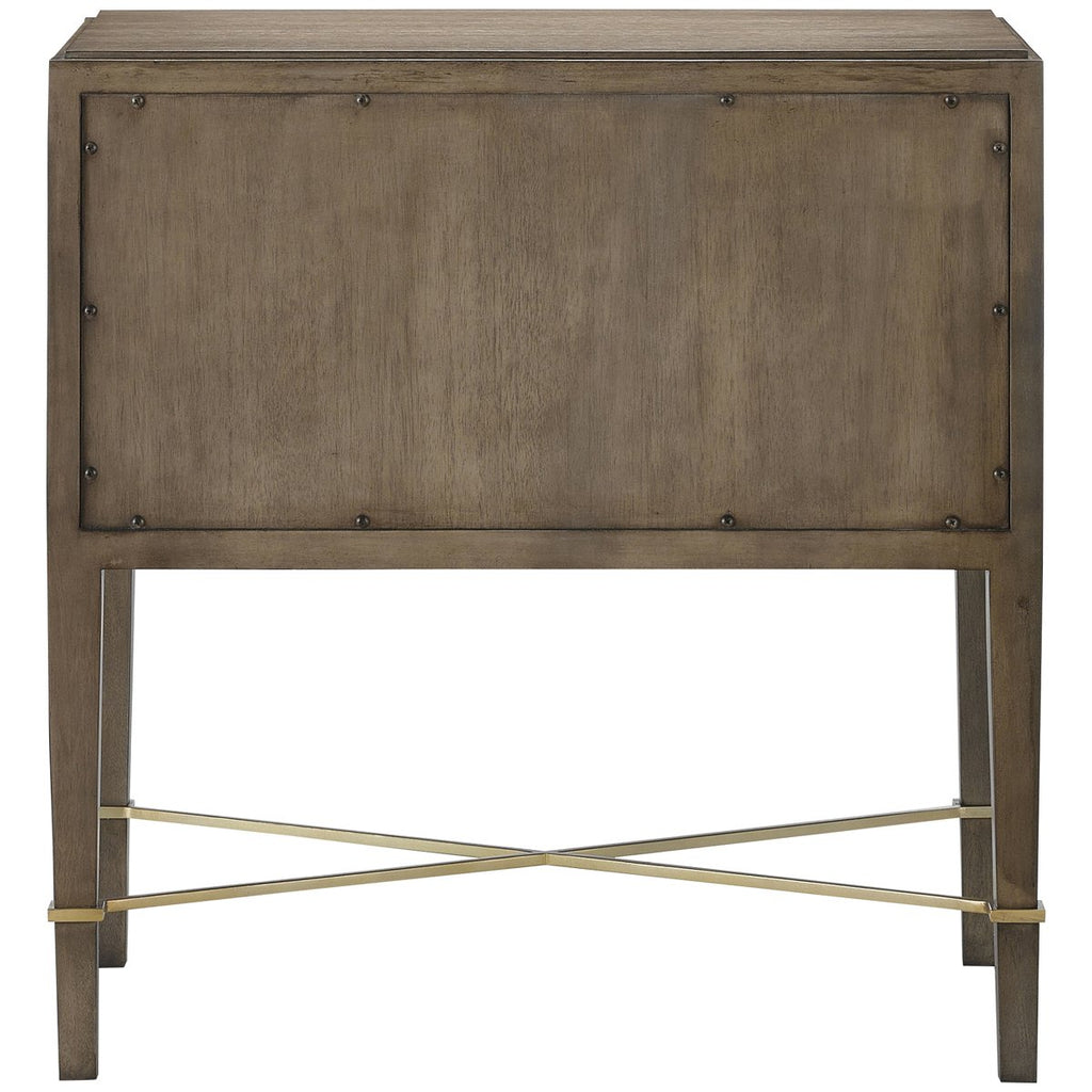 Currey and Company Verona Chanterelle Nightstand