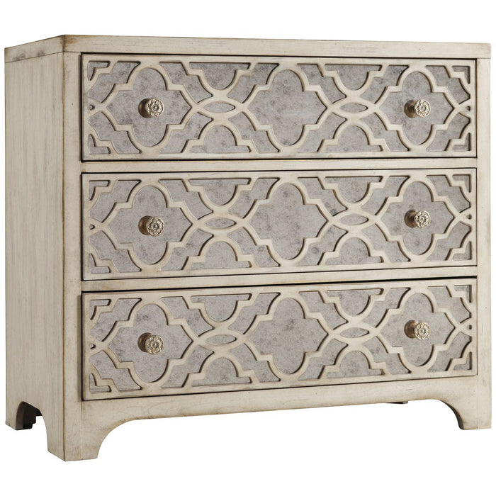 Hooker Furniture Sanctuary Fretwork Chest - Pearl Essence