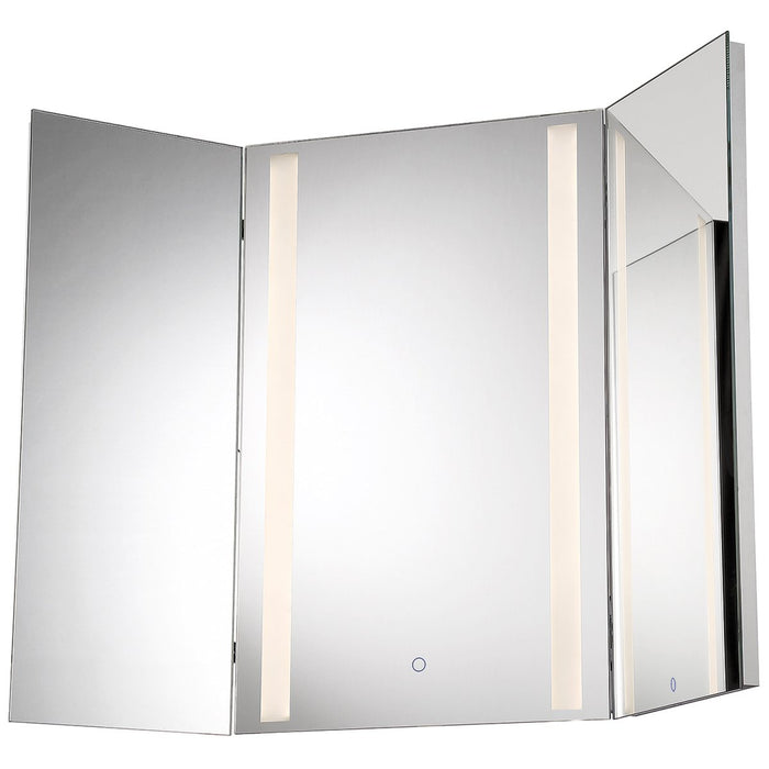 Eurofase Tri-fold LED Small Mirror