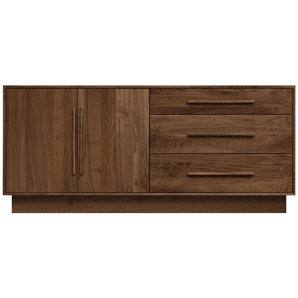 "Copeland Furniture Moduluxe 29"" 3 Drawers and 2 Doors Dresser"