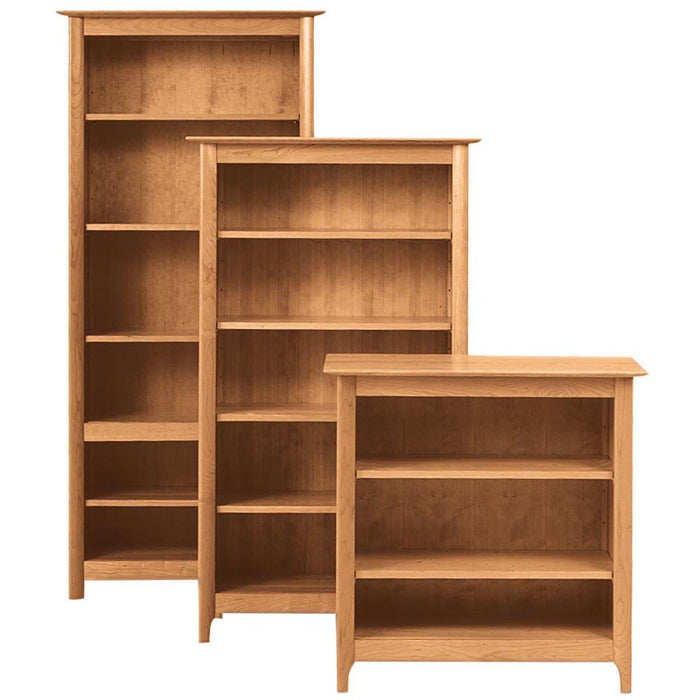 Copeland Furniture Sarah Home Office Bookcase in Cherry