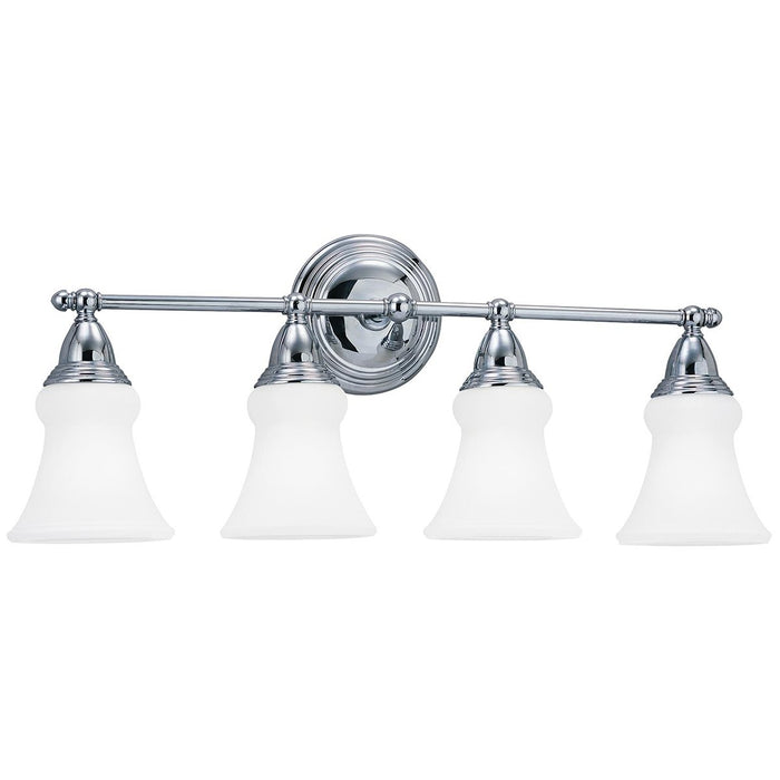 Sea Gull Lighting Sagemore Four Lights Wall Bath Sconce