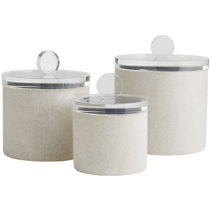Arteriors Dora Containers, 3-Piece Set