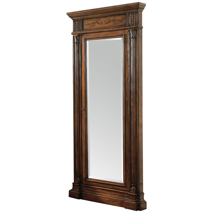 Hooker Furniture Floor Mirror with Jewelry Armoire Storage