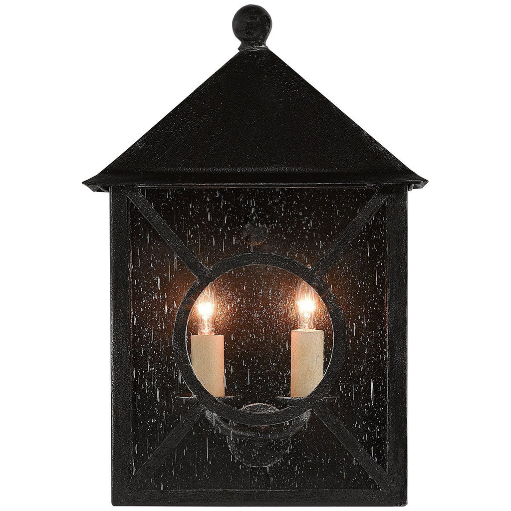 Currey and Company Ripley Outdoor Wall Sconce - 2 Bulb