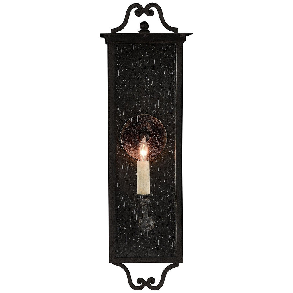 Currey and Company Giatti Outdoor Wall Sconce - 1 Bulb