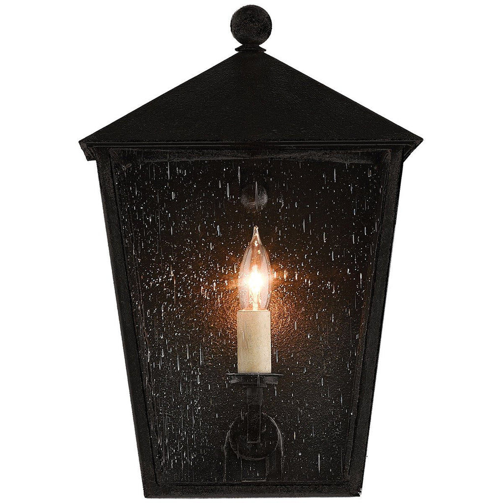 Currey and Company Bening Outdoor Wall Sconce -1 Bulb