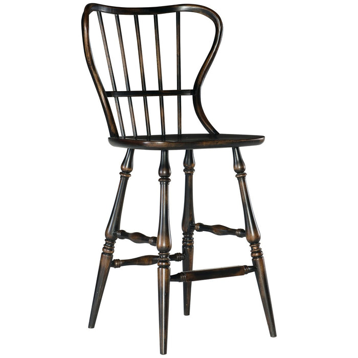 Hooker Furniture Ciao Bella Spindle Back Bar Stool