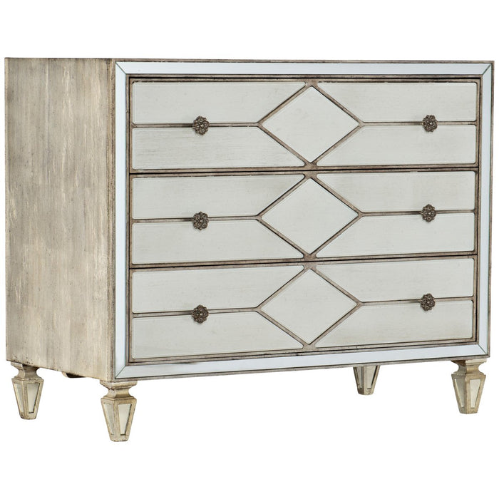 Hooker Furniture Sanctuary Queen of Diamonds Bachelorette Chest