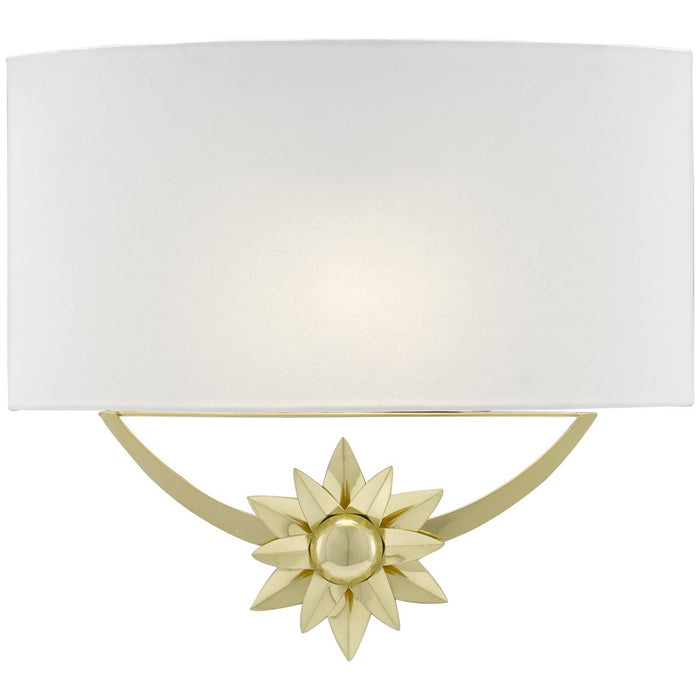 Currey and Company Dayflower Wall Sconce