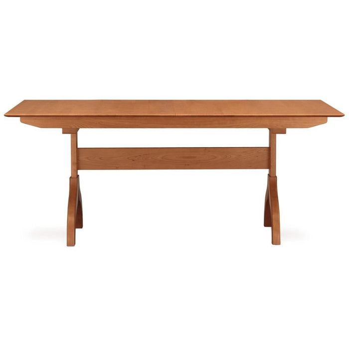 "Copeland Furniture Sarah 72""-96"" Trestle Extension Dining Table"