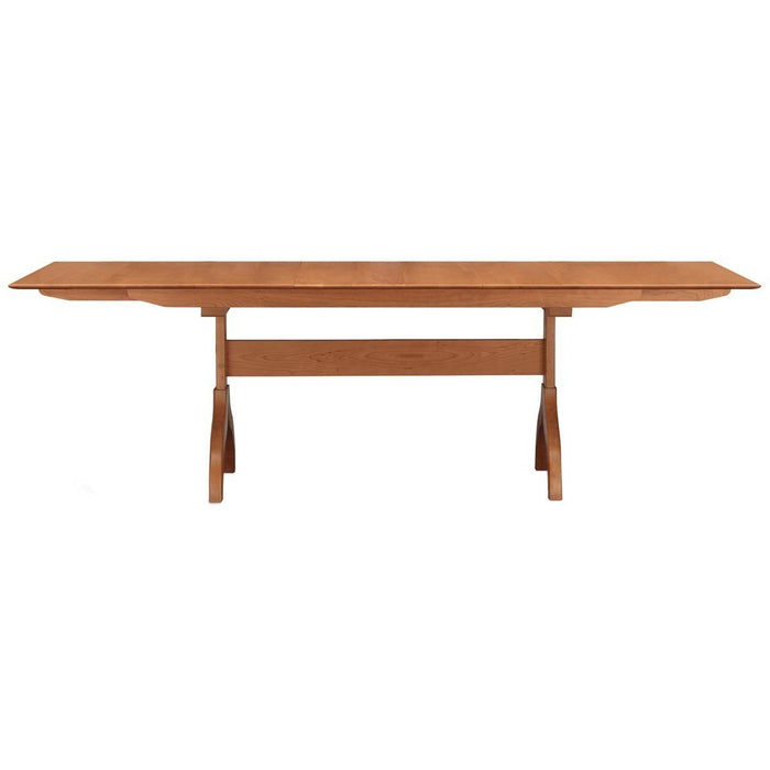 "Copeland Furniture Sarah 66""-90"" Wide Trestle Extension Dining Table"