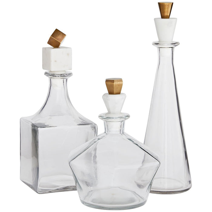Arteriors Wilshire Decanters - Set of 3