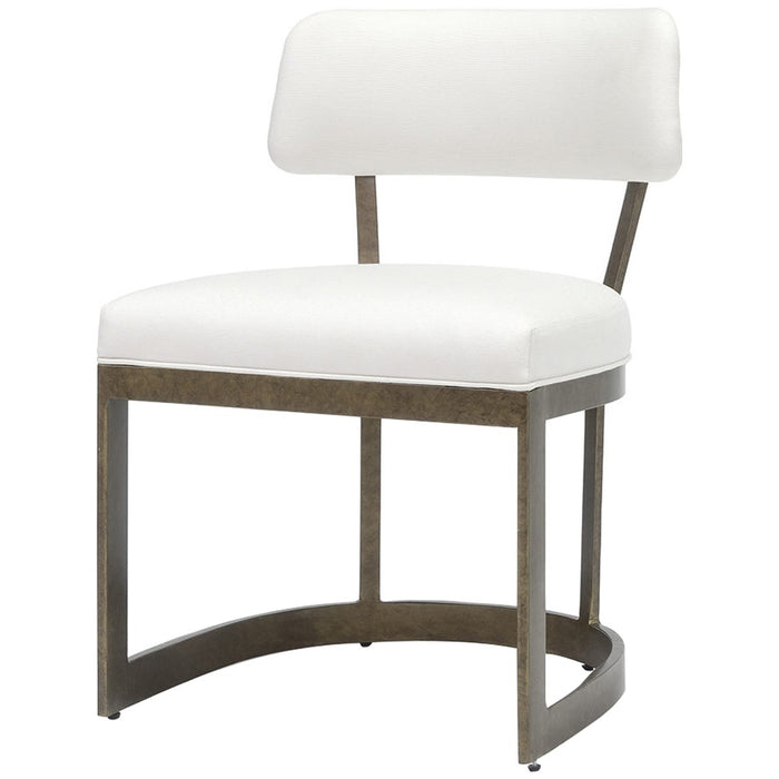 Palecek Conrad Side Chair, Gold