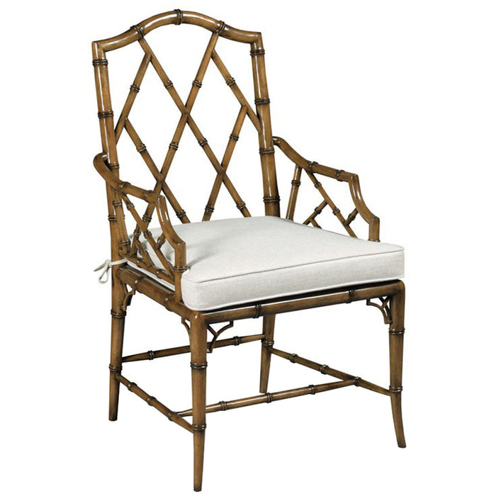 Woodbridge Furniture Aux Bamboo Arm Chair
