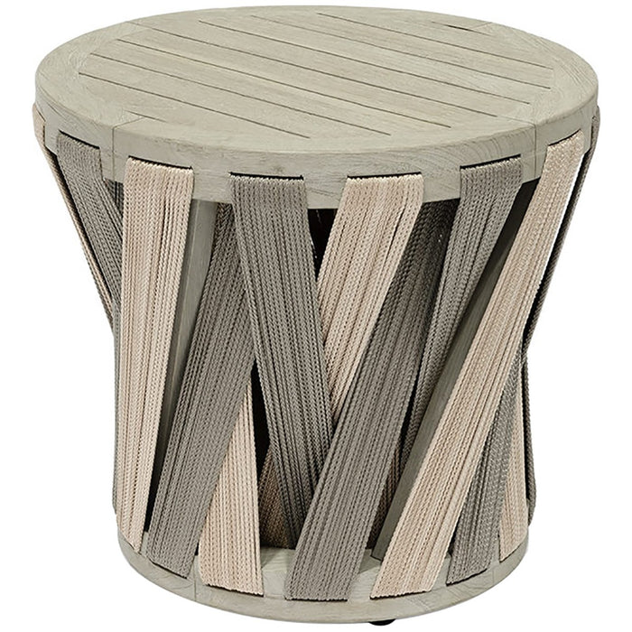 Palecek Boca Outdoor Side Table, Round