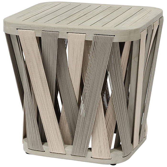 Palecek Boca Outdoor Side Table, Square