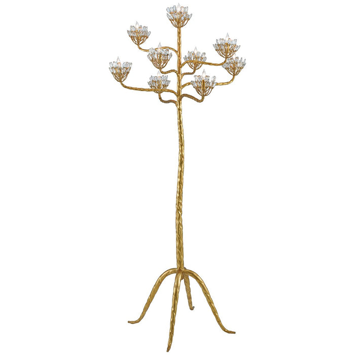 Currey and Company Agave Americana Floor Candelabra