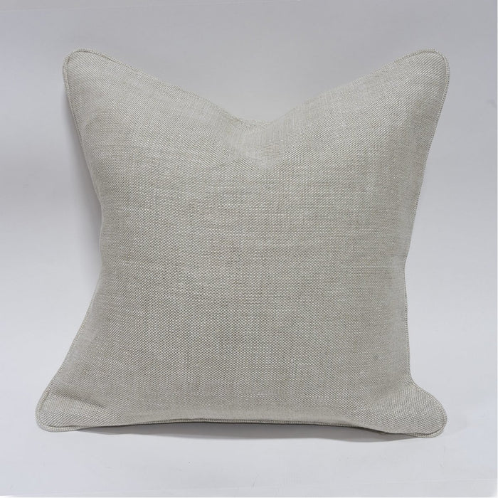 "Palecek 20"" Square Down Pillow with Welt"