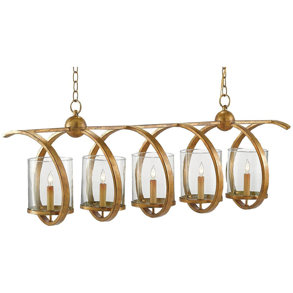 Currey and Company Maximus Rectangular Chandelier