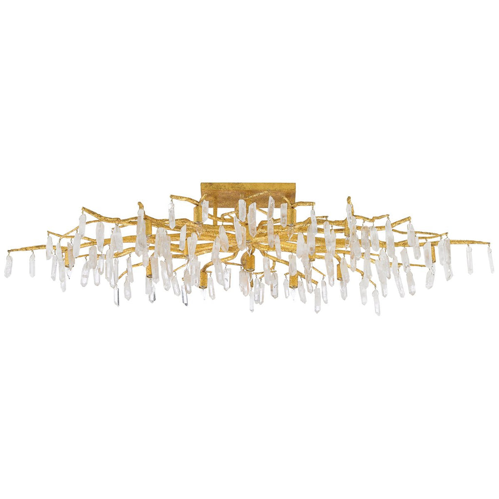 Currey and Company Forest Light Semi-Flush