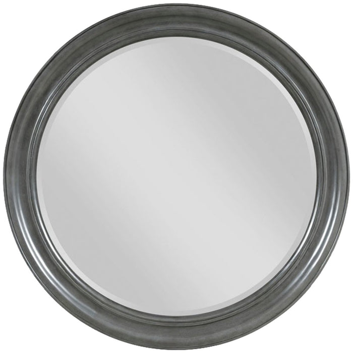 Woodbridge Furniture Round Mirror - Charcoal