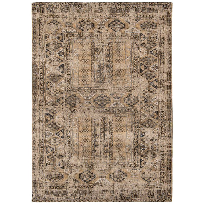 Louis de Poortere Antiquarian Hadschlu Antique 8720 Agha Old Gold Rug