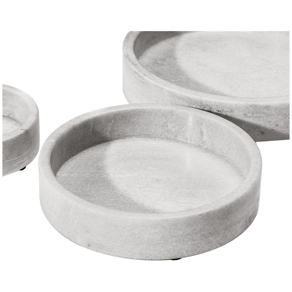 Interlude Home Jasper Trays, 3-Piece Set