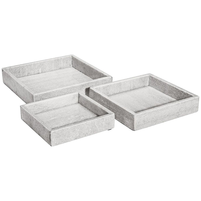 Interlude Home Arden Trays, 3-Piece Set