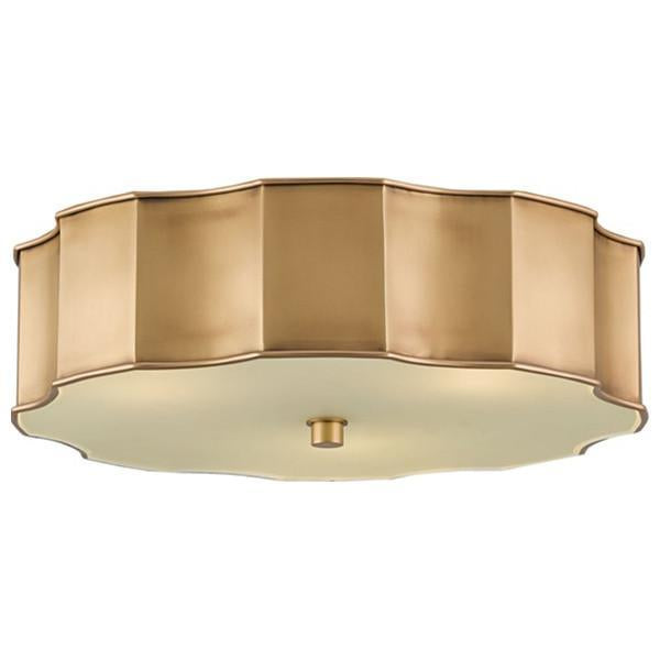 Currey and Company Wexford Flush Mount