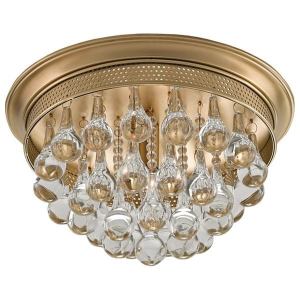 Currey and Company Worthing Flush Mount