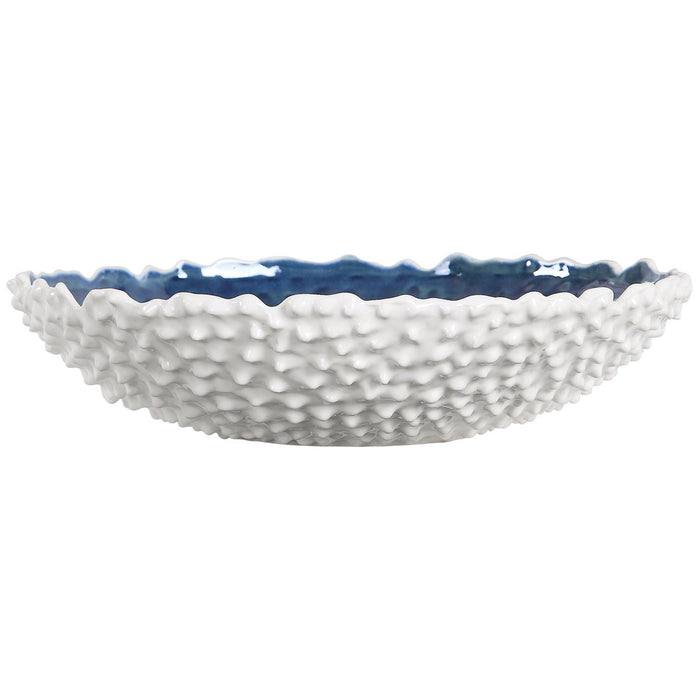 Uttermost Ciji White Bowl