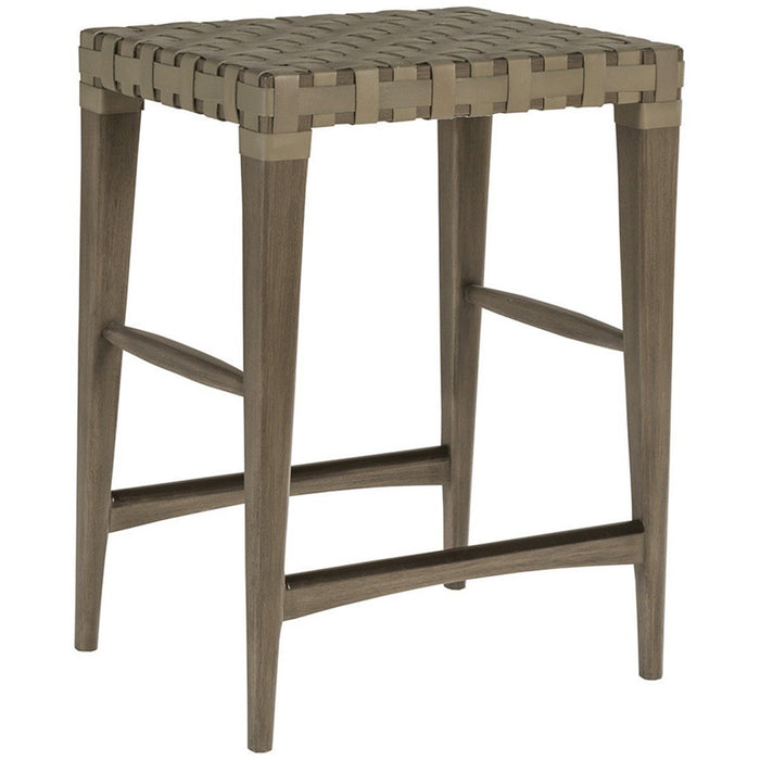 Artistica Home Milo Backless Leather Counter Stool 2002-897-41-01