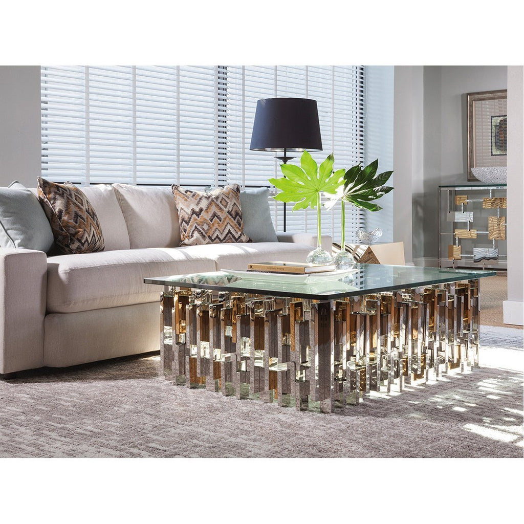 Artistica Home Cityscape Rectangular Cocktail Table 2041-945C